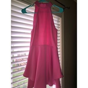 Tobi size small bright pink cocktail party dress